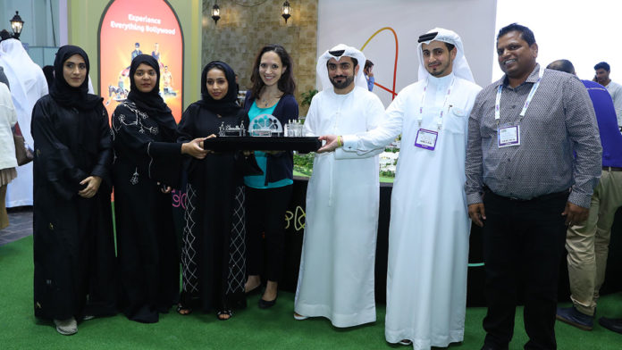 Dubai Parks and Resorts honored the winners of the zayed university student programme