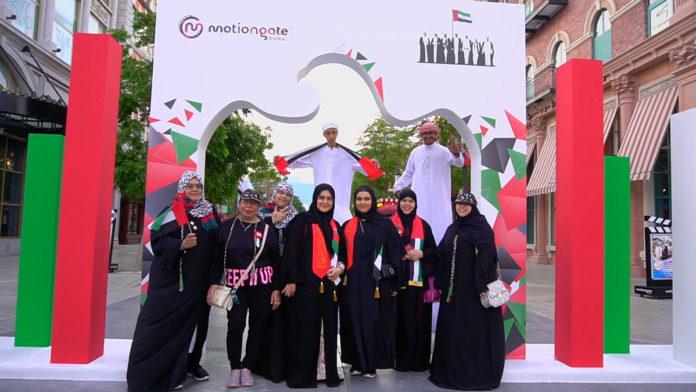 MOTIONGATE™ Dubai celebrate the 48th UAE National Day