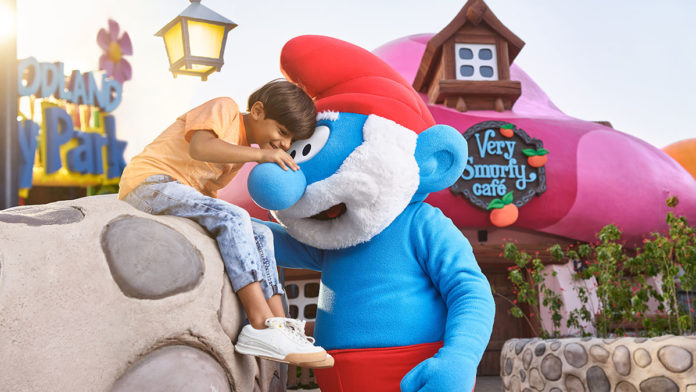 The Smurfs are turning 60 at MOTIONGATE™ Dubai