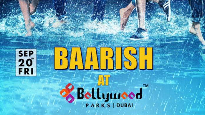 Beat the heat at Bollywood Parks™ Dubai with rain, music and dance