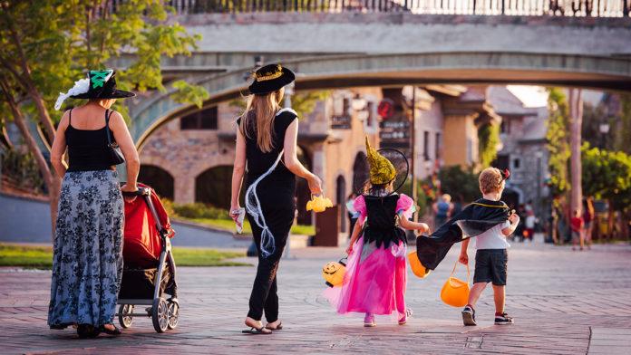 Halloween party at Riverland Dubai